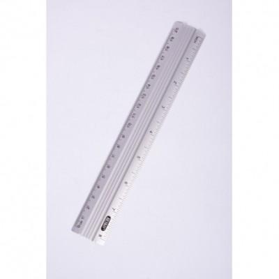 Regla aluminio 610101 20 cm Erika