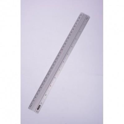 Regla aluminio 610105 30 cm Erika
