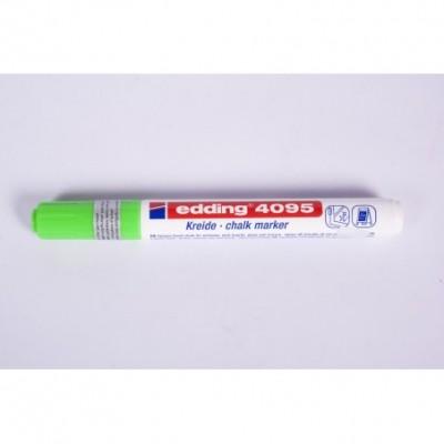 Marcador Tiza Liquida VERDE CLARO punta redonda 2-3 mm trazo medio Edding