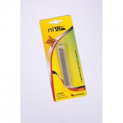 Repuesto X 10 cuchillas 9mm Niva Max