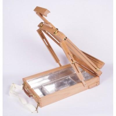 Caja con atril 50x30x9,7 cm para canvas h/74cm Artmate