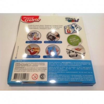 Set didactico de stickers removibles nenes Maped
