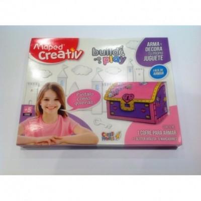 Set didactico juguetes de carton cofre Maped