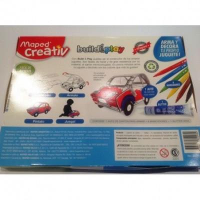 Set didactico juguetes de carton auto Maped