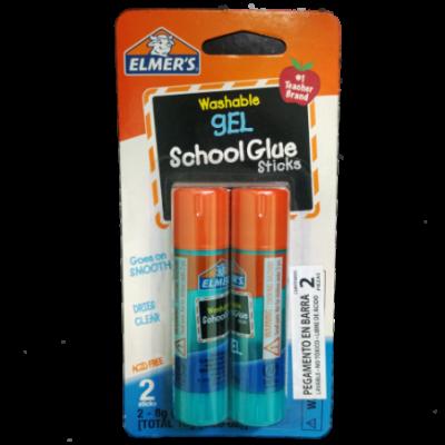 Adhesivo Barra Gel x8 gramos blister x2 unidades ELMERS