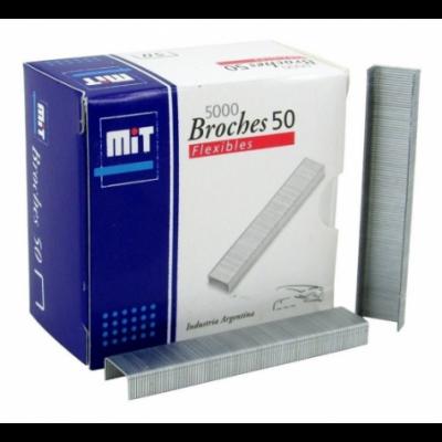 Broche para abrochadora Nº50 x5000 unidades MIT