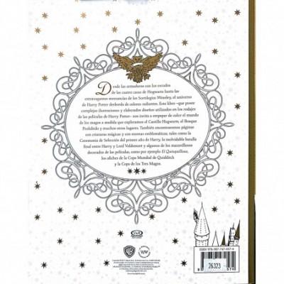 Libro para colorear HARRY POTTER MUNDO MAGICO