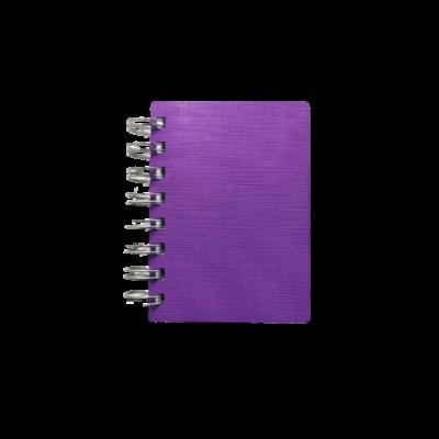 Libreta A7 entalada pvc RIDEO