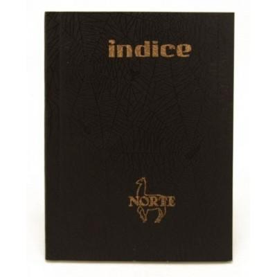 Cuaderno con indice tapa hule x 50 hojas Norte