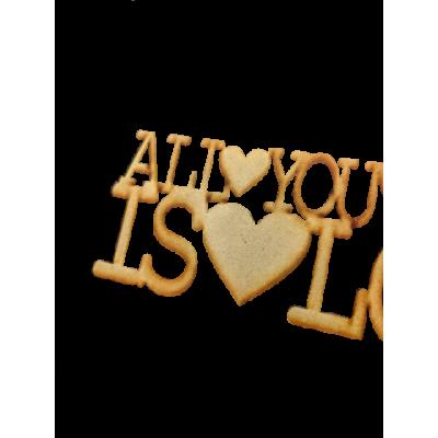 All you need is Love 15 cm laser  El Tigre