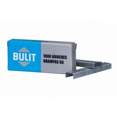 Broche Grampa S6 x1000 unidades BULIT