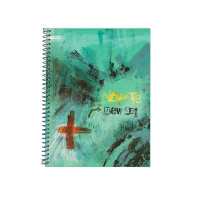 Cuaderno espiralado con indice x50 hojas Norte