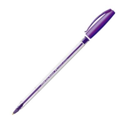 Bolígrafo color VIOLETA 1 mm Trilux de Faber castell