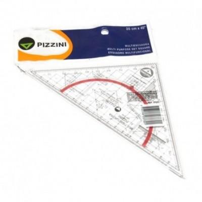 Multiescuadra 20x45cm Pizzini
