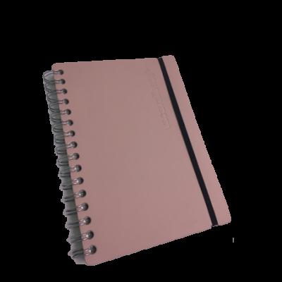 Cuaderno A5  Cuero reciclado rayado 80 hojas notebook VACAVALIENTE