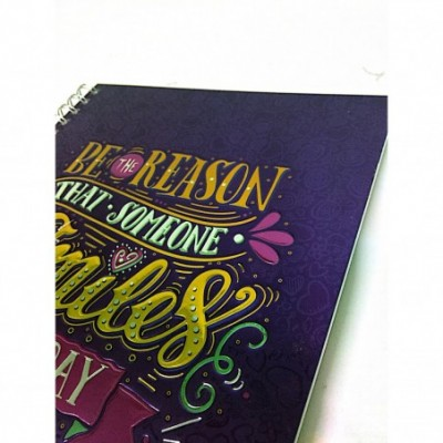 Cuaderno A4 RAYADO Tapa dura 96 hojas Lettering Onix