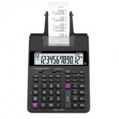 Calculadora 12 digitos con impresora HR-100 rc CASIO
