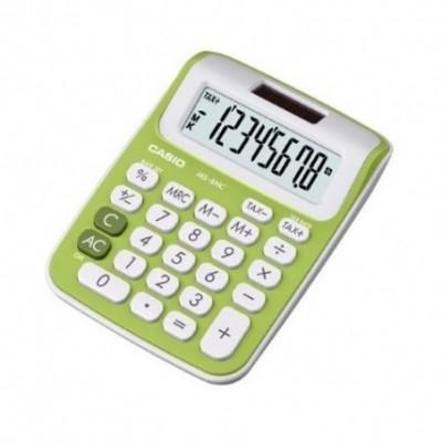 Calculadora mni escritorio 8 digitos verde MS-6NC  CASIO