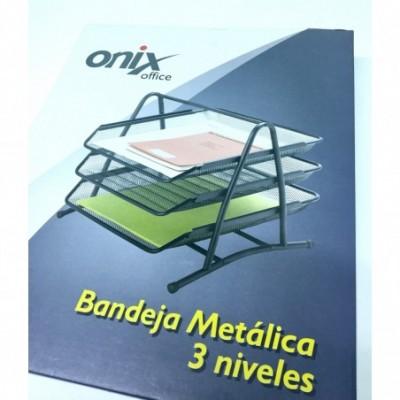 Bandeja de Alambre 3 pisos VIOLETA Onix