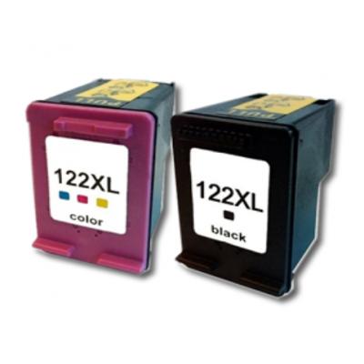 Cartucho para Impresora HP 122 XL NEGRO GTC