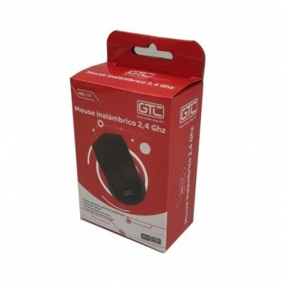 Mouse Inalámbrico 3D NEGRO GTC