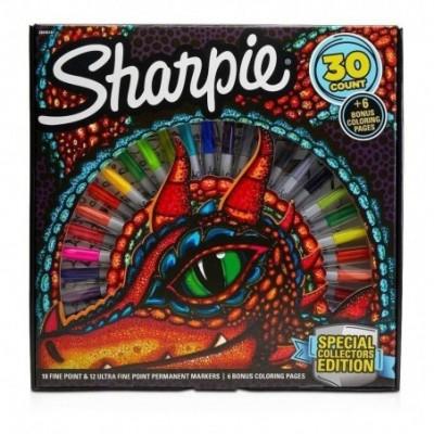 Marcador Permanente Ruleta Dragón x30 unidades Sharpie