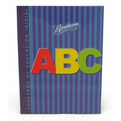 Cuaderno educación inicial Rivadavia