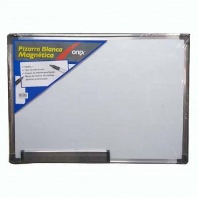 Pizarra magnética  60x90 cm marco de aluminio Onix