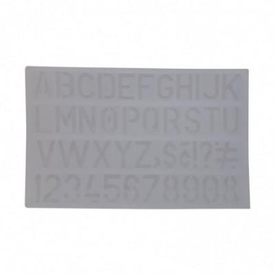 Plantilla de Letras y Números GRANDE Onix