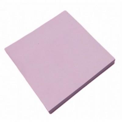 Nota adhesiva 74x74mm x100 hojas ROSA PASTEL Memo Fix