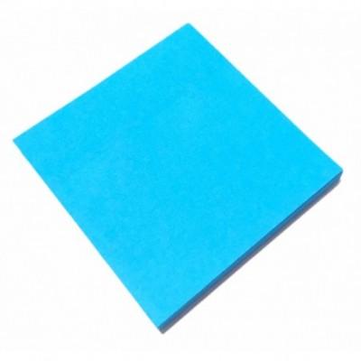 Nota Adhesiva 75x75 mm x80 hojas CELESTE NEON  Memo Fix