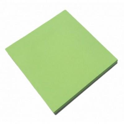 Nota Adhesiva 75x75 mm x80 hojas VERDE NEON  Memo Fix