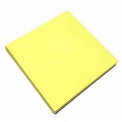 Nota Adhesiva 75x75 mm x80 hojas AMARILLO NEON  Memo Fix