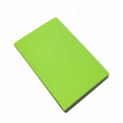 Nota Adhesiva 50x75 mm x80 hojas VERDE NEON  Memo Fix