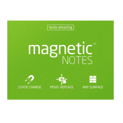 Magnetic Notes 100x70 mm VERDE x100 hojas Memo Fix