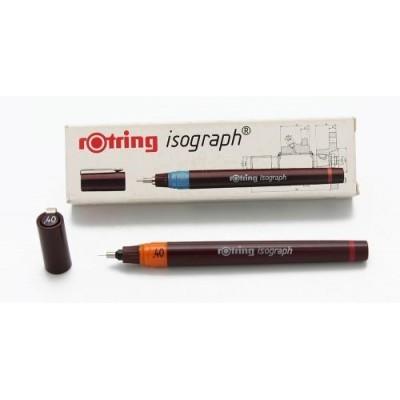 Isograph estilografo completo 0,4 Rotring