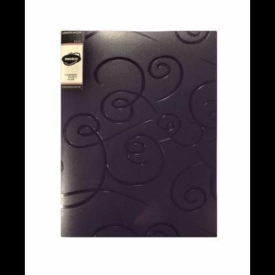 Carpeta A4 con 30 folios de tapa dura Ribbon Rideo