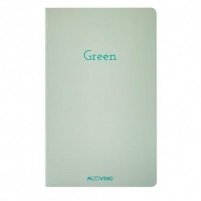 Libreta 13x21 cm GREEN NOTEBOOK Mooving