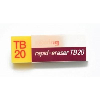 Gomas TB-20 para lapiz y tinta Rotring