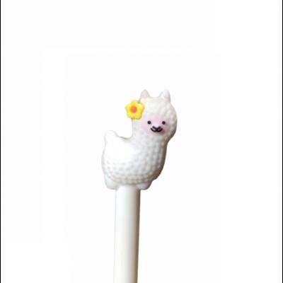 Bolígrafo Llama Bebé Blanca tinta AZUL Kikka
