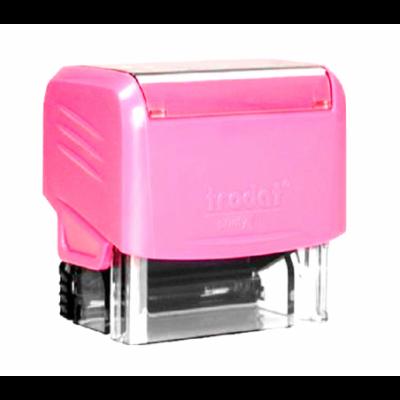 Sello Automático Printy 3912 47x18 mm ROSA Trodat
