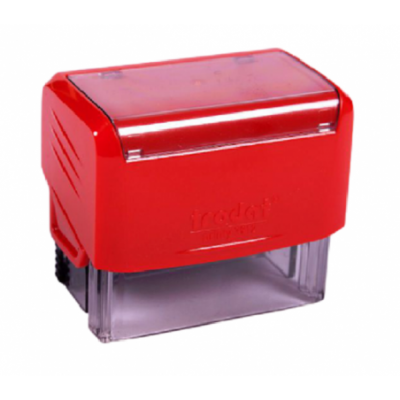 Sello Automático Printy 3912 47x18 mm ROJO Trodat