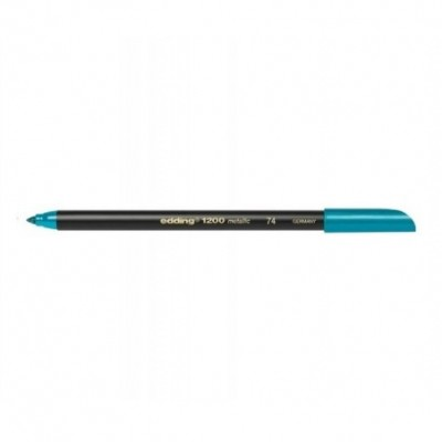 Marcador Colourpen Art 1200 Metallic 074 VERDE Edding