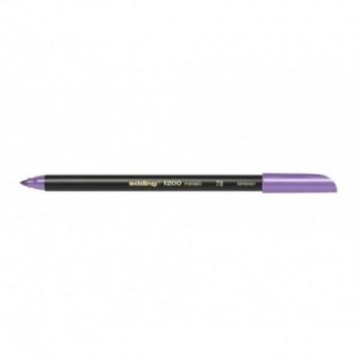 Marcador Colourpen Art 1200 Metallic 078 VIOLETA Edding