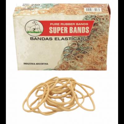 Bandas elasticas de 40 mm caja x250 grs Super Bands