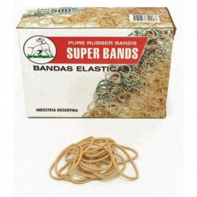 Bandas elásticas de 40 mm caja x500 grs Super Bands