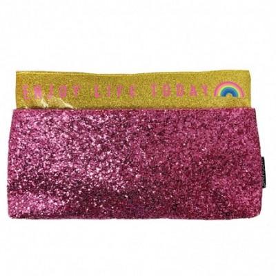 Canopla Sobre con Bolsillo Glitter GOLDEN RAINBOW Mooving