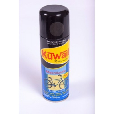 Esmalte Sintético en Aerosol metal NEGRO x240 cc Kuwait