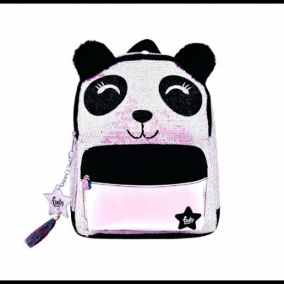 Mochila Espalda 12' PANDA BEAR con lentejuelas Footy