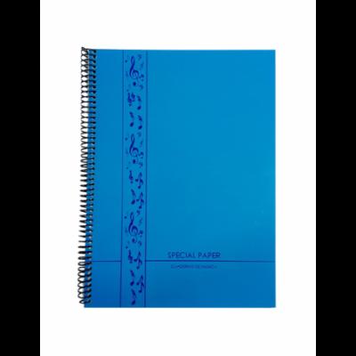 Cuaderno espiralado A4 profesional de Música x50 hojas de 90 gramos Special Paper
